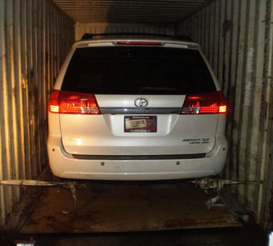 Minivan for export